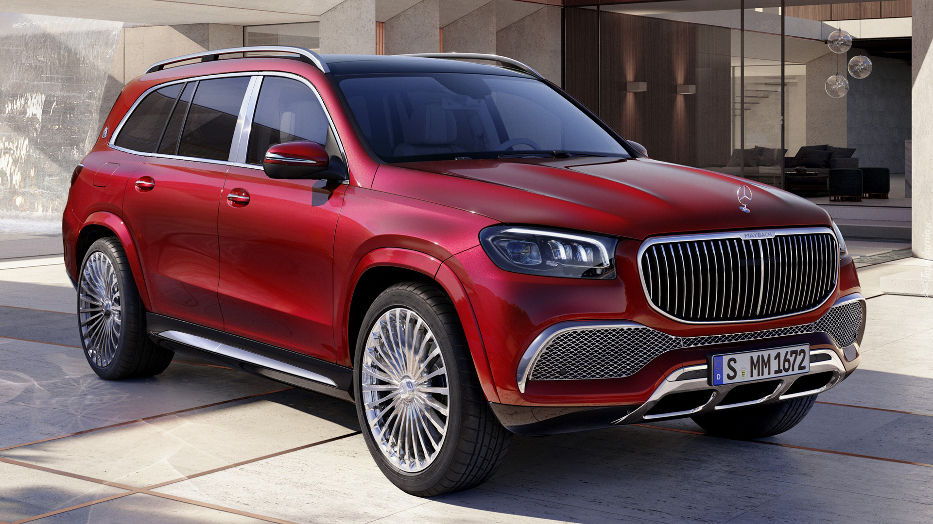 Mercedes Maybach GLS