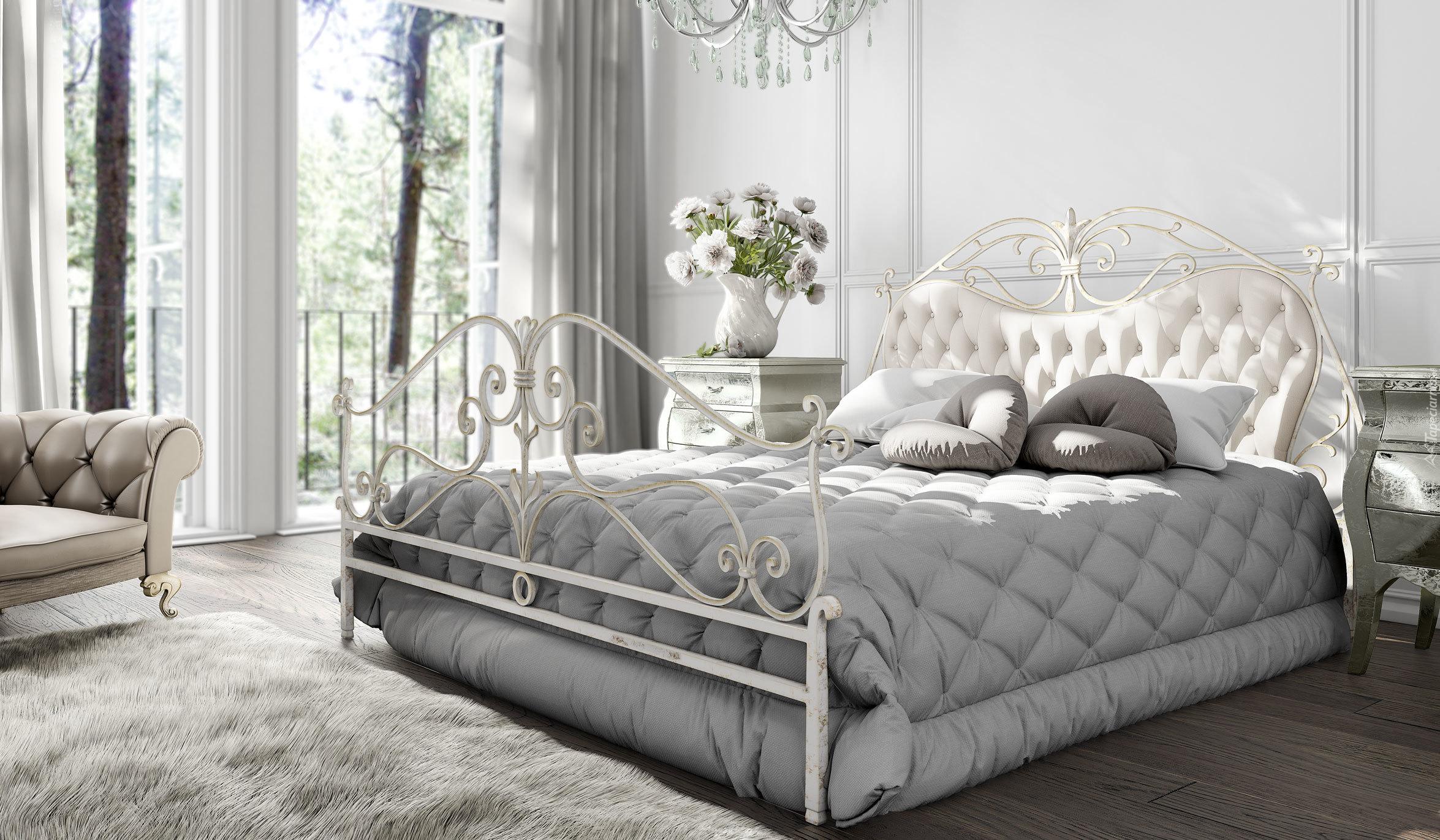 Pokój Sypialny Z Dużym łóżkiem