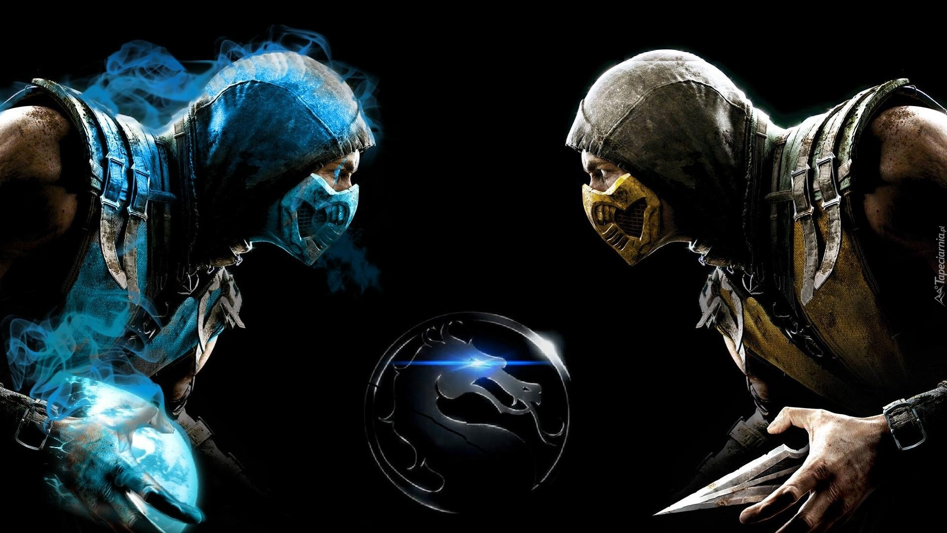 Mortal Kombat, Sub Zero, Scorpion