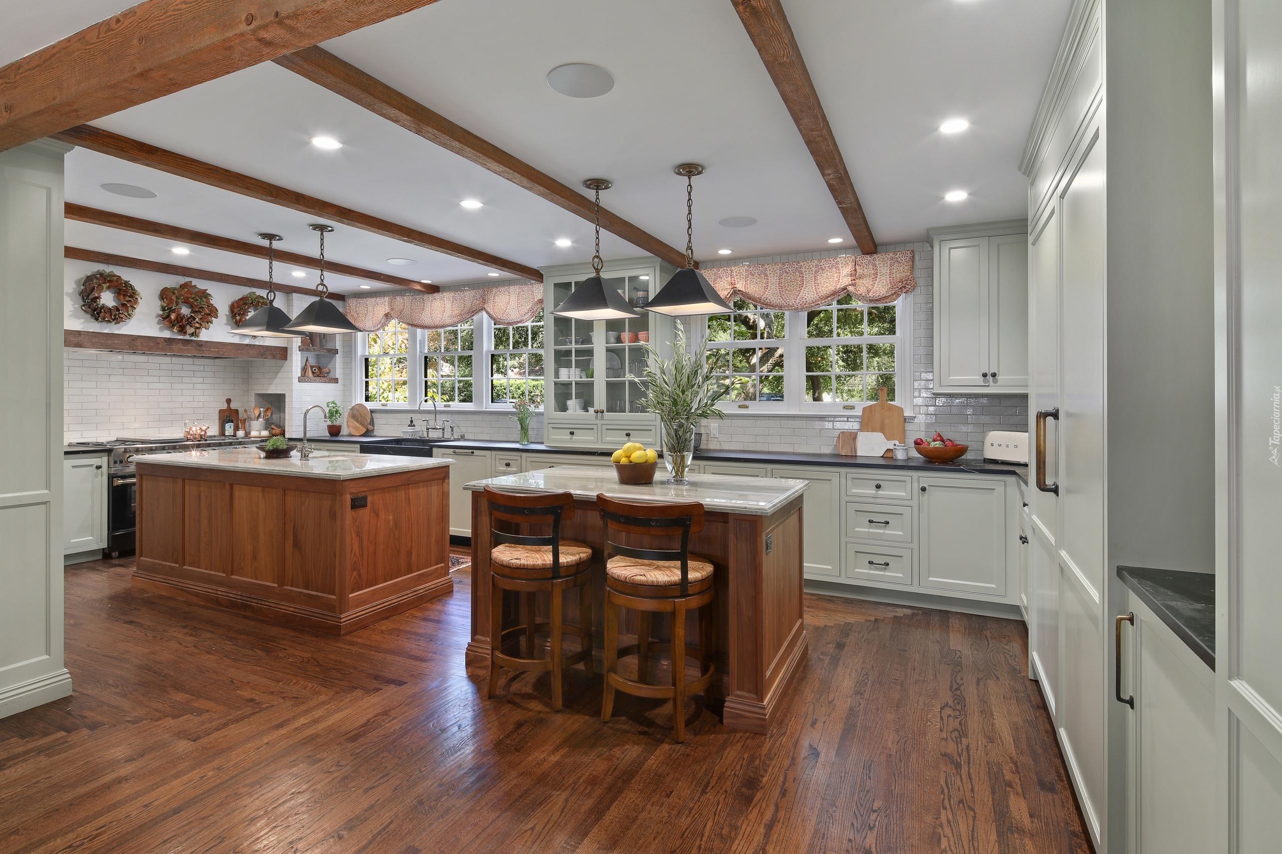 Wnętrze Eleganckiej Kuchni