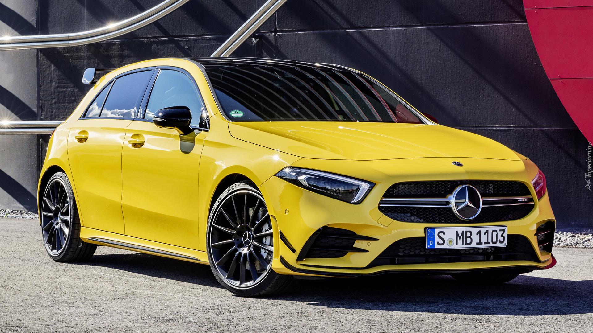 Tapety : Mercedes A-klasa