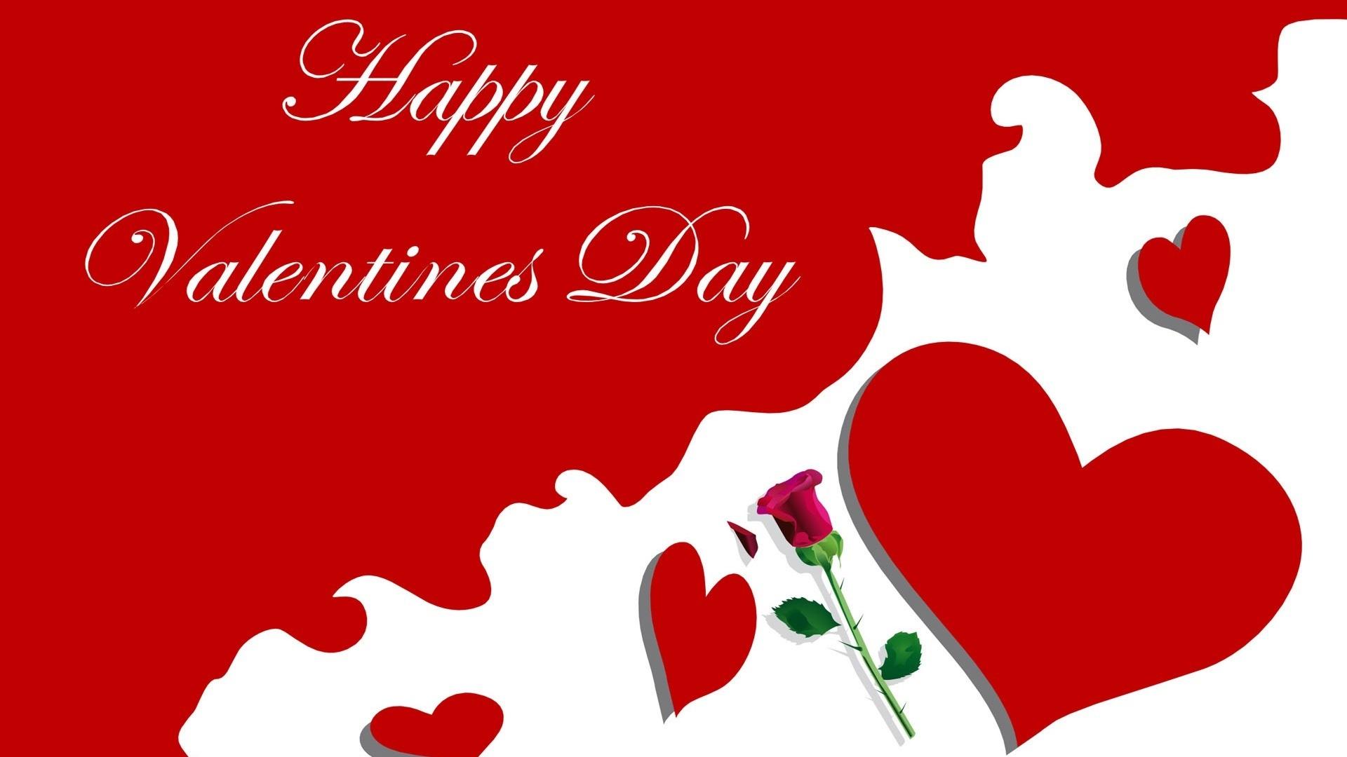 życzenia Walentynkowe: Życzenia Walentynkowe Z Różą I Sercami