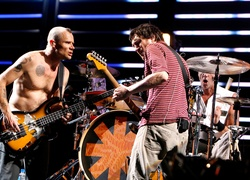 Flea, John Frusciante, Chad Smith
