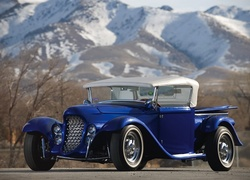 Niebieski, Ford, Eclipse, Roadster, 1932