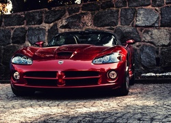 Bordowy, Dodge, Viper