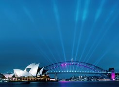 Australia, Sydney, Most Sydney Harbour Bridge, Sydney Opera House
