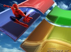System, Operacyjny, Windows, Xp, Spajderman