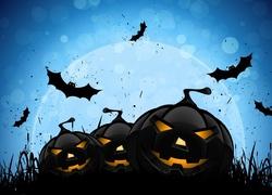 Dynie, Nietoperze, Halloween