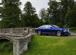 Bentley, Mulsanne, Park, Most