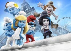 The Smurfs, Smerfy, Postacie