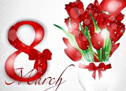Dzień Kobiet, Tulipany, Data