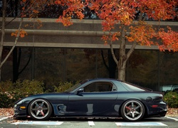 Mazda, RX-7, Parking, Drzewa