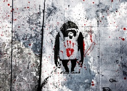 Banksy, Graffiti