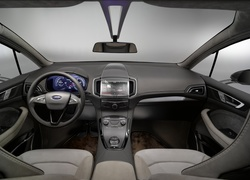 Ford S-MAX, Concept, kokpit