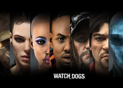 Watch Dogs, Postacie