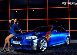 Need for speed, Most wanted, BMW, Girl car