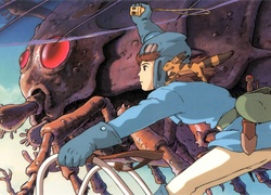 Nausicaa Of The Valley Of Mist, Manga, Anime