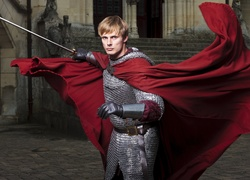 Serial, Przygody Merlina, The Adventures of Merlin, Mężczyzna,  Bradley James