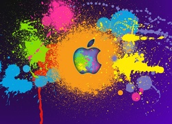 Logo, Apple, Graffiti