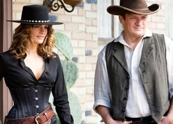 Serial, Castle, Stana Katic, Nathan Fillion
