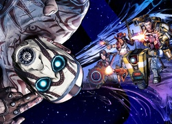 Borderlands: The Pre-Sequel, Kosmos, Maska, Broń