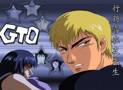 Great Teacher Onizuka, gto, logo, ludzie