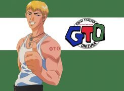Great Teacher Onizuka, biceps, facet, gto, logo