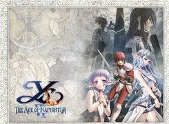 Ys Vi The Ark Of Napishtim, postacie, grafika, manga