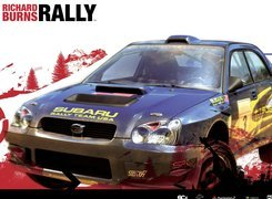 Richard Burns Rally, subaru, impreza, grafika, samochód