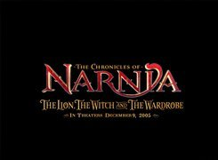 The Chronicles Of Narnia, npis, czarne tło