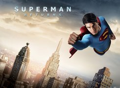 Superman Returns, Brandon Routh, miasto, wieżowce