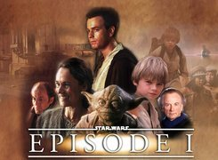 Star Wars, Jake Lloyd, Pernilla August, postacie, Yoda