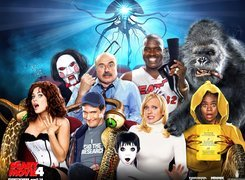 Scary Movie 4, Anna Faris, King Kong, Piła, postacie