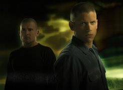 Prison Break, Skazany na śmierć, Dominic Purcell, Wentworth Miller, bracia