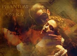 Phantom Of The Opera, Emmy Rossum, Gerard Butler, Maska