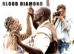 Krwawy Diament, Djimon Hounsou, Jennifer Connelly