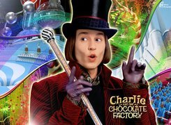 Charlie And The Chocolate Factory, Johnny Depp, cylinder, bajka