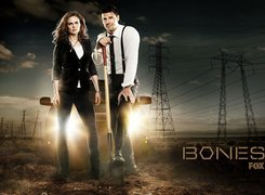 Serial, Bones, Kości, Emily Deschanel, David Boreanaz