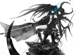 Black Rock Shooter, Miecz