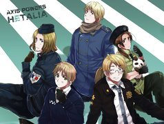Postacie, Axis Powers Hetalia