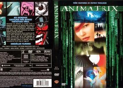 Animatrix, okładka, dvd