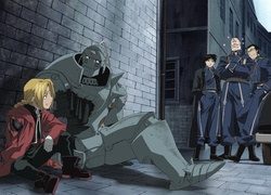 Full Metal Alchemist, Edward, Roy