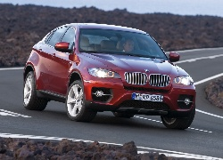 BMW, X6, Ostry, Zakręt