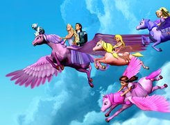 Film animowany, Barbie i magia pegaza, Barbie and the Magic of Pegasus