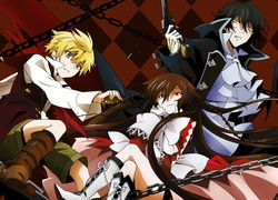 Pandora Hearts, Oz, Raven, Gilbert, Alice