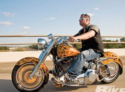 Harley Davidson Fat Boy, Airbrush