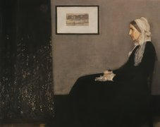 James, Abbott, McNeill, Whistler, Portret, Matki