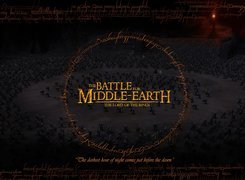 Lotr, The Battle Of Middle Earth