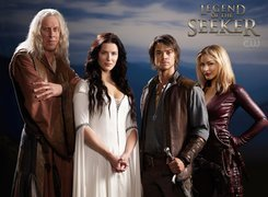 Miecz Prawdy, Legend of the Seeker, Bruce Spence,  Bridget Regan, Craig Horner, Tabrett Bethell