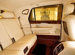 Bentley Arnage, Tylna, Kanapa